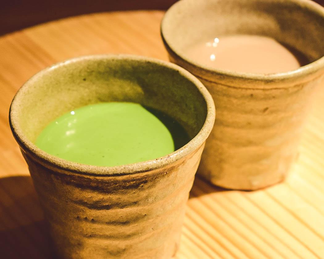京都宇治 ほうじ茶・抹茶ラテ